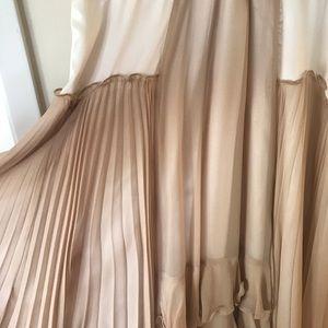 44a8c4e48b Chloe Dresses - Chloe Silk Chiffon Pleated Dress Sz 8-10